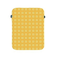 Yellow Pattern Background Texture Apple Ipad 2/3/4 Protective Soft Cases