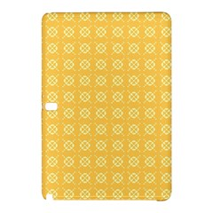 Yellow Pattern Background Texture Samsung Galaxy Tab Pro 12 2 Hardshell Case