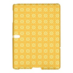 Yellow Pattern Background Texture Samsung Galaxy Tab S (10 5 ) Hardshell Case