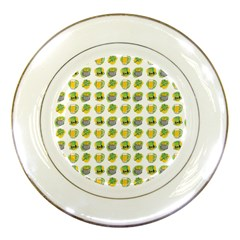 St Patrick S Day Background Symbols Porcelain Plates