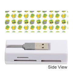 St Patrick S Day Background Symbols Memory Card Reader (stick)