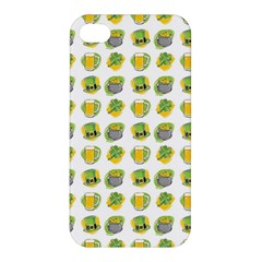 St Patrick S Day Background Symbols Apple Iphone 4/4s Premium Hardshell Case