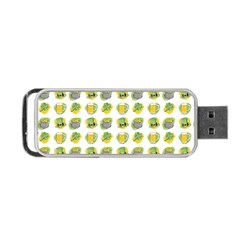 St Patrick S Day Background Symbols Portable Usb Flash (two Sides)