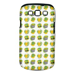 St Patrick S Day Background Symbols Samsung Galaxy S Iii Classic Hardshell Case (pc+silicone)