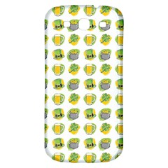 St Patrick S Day Background Symbols Samsung Galaxy S3 S Iii Classic Hardshell Back Case