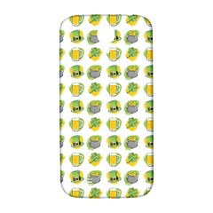 St Patrick S Day Background Symbols Samsung Galaxy S4 I9500/i9505  Hardshell Back Case