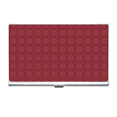 Purple Pattern Background Texture Business Card Holders