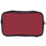 Purple Pattern Background Texture Toiletries Bags Front