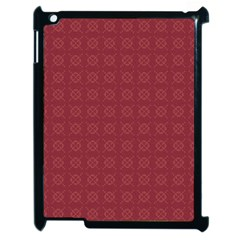 Purple Pattern Background Texture Apple Ipad 2 Case (black)