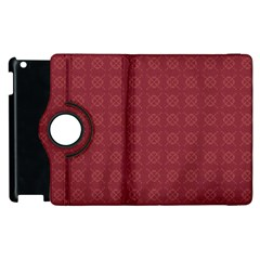 Purple Pattern Background Texture Apple Ipad 2 Flip 360 Case
