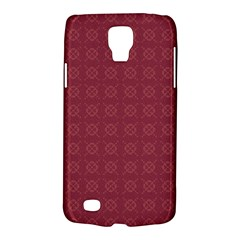 Purple Pattern Background Texture Galaxy S4 Active