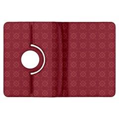 Purple Pattern Background Texture Kindle Fire Hdx Flip 360 Case
