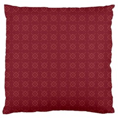 Purple Pattern Background Texture Standard Flano Cushion Case (two Sides)
