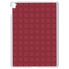 Purple Pattern Background Texture Apple Ipad Pro 9 7   White Seamless Case