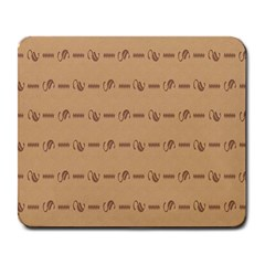 Brown Pattern Background Texture Large Mousepads