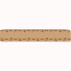 Brown Pattern Background Texture Small Bar Mats