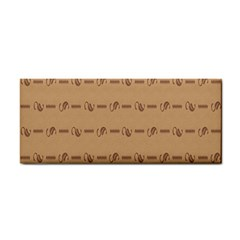 Brown Pattern Background Texture Cosmetic Storage Cases