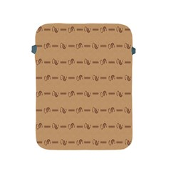 Brown Pattern Background Texture Apple Ipad 2/3/4 Protective Soft Cases