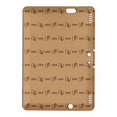 Brown Pattern Background Texture Kindle Fire Hdx 8 9  Hardshell Case