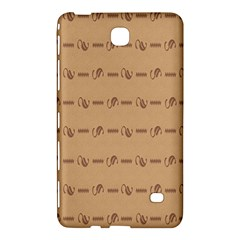 Brown Pattern Background Texture Samsung Galaxy Tab 4 (8 ) Hardshell Case