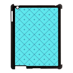Pattern Background Texture Apple Ipad 3/4 Case (black)