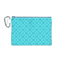 Pattern Background Texture Canvas Cosmetic Bag (m)