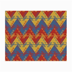Aztec South American Pattern Zig Small Glasses Cloth (2 Side)