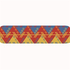 Aztec South American Pattern Zig Large Bar Mats