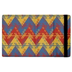 Aztec South American Pattern Zig Apple Ipad 2 Flip Case