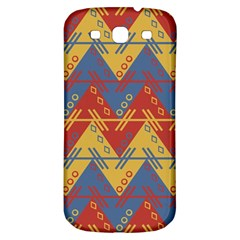 Aztec South American Pattern Zig Samsung Galaxy S3 S Iii Classic Hardshell Back Case