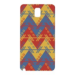 Aztec South American Pattern Zig Samsung Galaxy Note 3 N9005 Hardshell Back Case