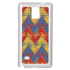 Aztec South American Pattern Zig Samsung Galaxy Note 4 Case (white)