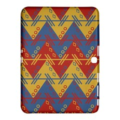 Aztec South American Pattern Zig Samsung Galaxy Tab 4 (10 1 ) Hardshell Case