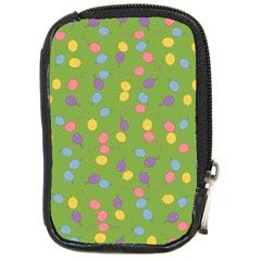 Balloon Grass Party Green Purple Compact Camera Cases