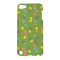 Balloon Grass Party Green Purple Apple Ipod Touch 5 Hardshell Case