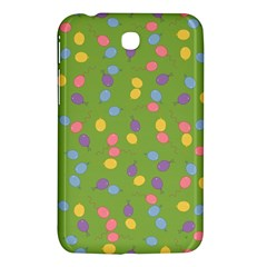 Balloon Grass Party Green Purple Samsung Galaxy Tab 3 (7 ) P3200 Hardshell Case