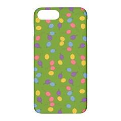 Balloon Grass Party Green Purple Apple Iphone 7 Plus Hardshell Case