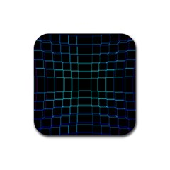 Abstract Adobe Photoshop Background Beautiful Rubber Coaster (square)