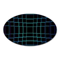 Abstract Adobe Photoshop Background Beautiful Oval Magnet