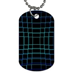 Abstract Adobe Photoshop Background Beautiful Dog Tag (two Sides)