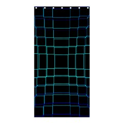 Abstract Adobe Photoshop Background Beautiful Shower Curtain 36  X 72  (stall)