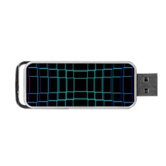 Abstract Adobe Photoshop Background Beautiful Portable Usb Flash (one Side)