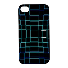 Abstract Adobe Photoshop Background Beautiful Apple Iphone 4/4s Hardshell Case With Stand