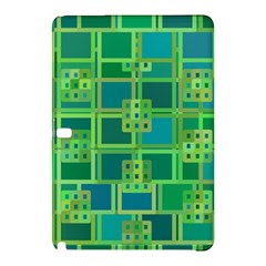 Green Abstract Geometric Samsung Galaxy Tab Pro 12 2 Hardshell Case