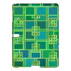 Green Abstract Geometric Samsung Galaxy Tab S (10 5 ) Hardshell Case