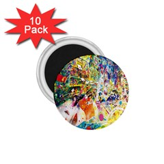 Multicolor Anime Colors Colorful 1 75  Magnets (10 Pack)