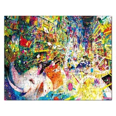 Multicolor Anime Colors Colorful Rectangular Jigsaw Puzzl
