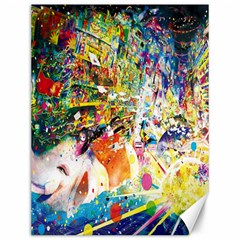 Multicolor Anime Colors Colorful Canvas 12  X 16