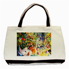 Multicolor Anime Colors Colorful Basic Tote Bag (two Sides)