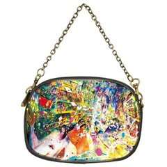Multicolor Anime Colors Colorful Chain Purses (one Side)